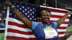 "This Powerhouse, 210-Pound Olympian Wants Women to Know Strong Is Beautiful: ""I love hair, I love makeup, I love fashion, and I love throwing the shot put."""