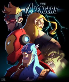 The Avengers by *Javas