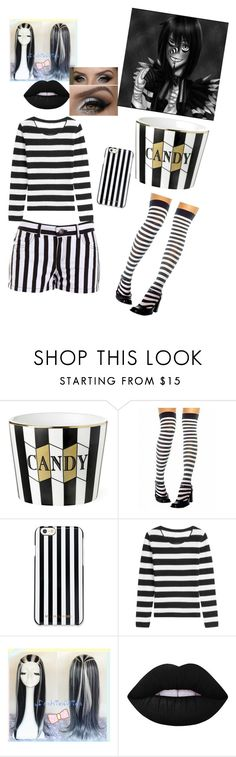 """""""Laughing Jack"""" by jesussavesalways ❤ liked on Polyvore featuring BB Dakota, MICHAEL Michael Kors, 81hours and Lime Crime"""