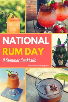 August 16th is National Rum Day and there's no better excuse to mix up an…