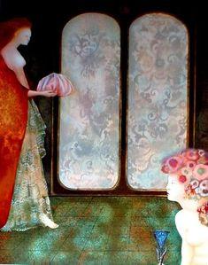 Leonor Fini Leonor Fini (August Buenos Aires, Argentina - January Paris, France) was an Argentine surrea. Art Floral, Catalogue Raisonne, Art Eras, Cultural Crafts, Art Plastique, Sculpture, Figure Painting, Contemporary Artists, Unique Art