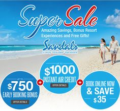 Get Up To A Instant Air Credit And Up To A Early - All inclusive caribbean deals