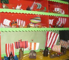 Viking longships classroom display photo - Photo gallery - SparkleBox