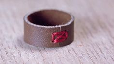 How to Make a Leather Ring « Fashion Design