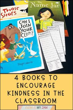4 books can encourage kindness in the classroom. From early elementary to upper elementary, take your students on a positive journey. Grab your set now! #TeacherTips #ClassroomSupplies #ClassroomManagement #Elementary #JustForTheTeacher #SpreadKindness #Teacher #ITeach Books About Kindness, Lifelong Friends, Classroom Supplies, School Counselor, Teacher Hacks, Upper Elementary, Encouragement Quotes, Read Aloud, Classroom Management