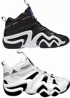 Kobe Bryant Shoe's Line 1996 - Awesome Kobe shoes line. Adidas KB8