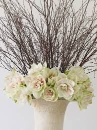 Image result for decorating with amaryllis for christmas