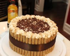 A Bowl of Creativity: Kahlua Tiramisu Layer Cake