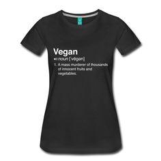 >> Click to Buy << Funny Vegan Definition Women's T-Shirt Print Women'S T Shirt Punk for  Women Summer 2017 Fashion Design T Shirt Women Fashion #Affiliate