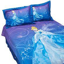 "Disney Princess Cinderella Dress-Up Full Comforter Set - Franco Mfg - Babies ""R"" Us"
