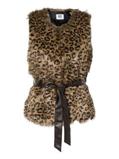 Fur Waistcoat, Fake Fur, Fur Coat, Cool Outfits, Clothes For Women, Tank Tops, Jackets, Fashion, Sweater Vests