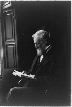 [John Muir, seated, reading a book] http://www.loc.gov/pictures/resource/cph.3a10297/