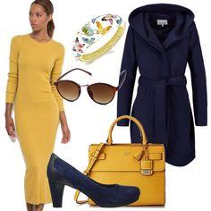 29ddb777bc52 Outfit autunnale dai colori moda: outfit donna Basic per ufficio e tutti i  giorni | Bantoa