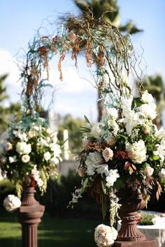 arches with curly willow | Curly Willow Arch and Arch Arrangements