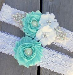 Mint Garter , Wedding Garter , Bridal Garter , Bling Rhinestone Garter , country wedding by ThePinkBunnyWeddings on Etsy https://www.etsy.com/listing/223447405/mint-garter-wedding-garter-bridal-garter