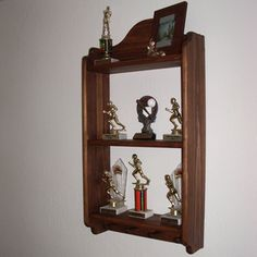 Build These Free Woodworking Plans with Your Compound Miter Saw: Knick Knack Shelf Plans
