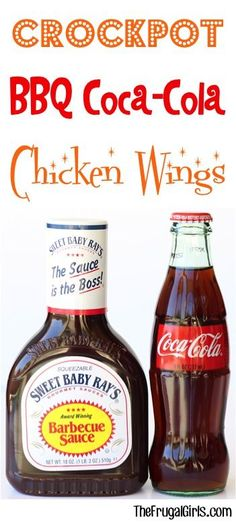 Crock Pot Barbecue Coca-Cola Wings Recipe! ~ from TheFrugalGirls.com ~ give your chicken a delicious makeover with this EASY and crazy delicious Barbecue Wings recipe! Just 3 ingredients!! #slowcooker #recipes #thefrugalgirls