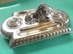 Technology Expo Standsaur : 122 fantastiche immagini su silver inkstands and inkwells fountain
