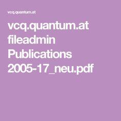 vcq.quantum.at fileadmin Publications 2005-17_neu.pdf