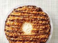 No-Bake Samoa Pie image
