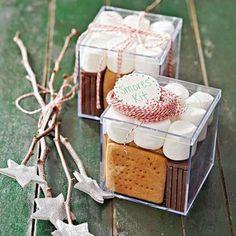Kit de smores gourmand pour Noël. 15 Kits et coffrets cadeaux à composer soi-même pour faire plaisir à coup sûr