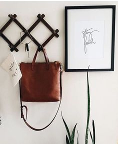 simple hooks in a mudroom or front foyer