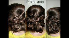 Elegant Prom Updo nails-make-up-hair Homecoming Hairstyles, Bride Hairstyles, Prom Updo, Prom Hair, Pretty Hairstyles, Homecoming Updo, Hairdos, Updos, Simple Wedding Updo