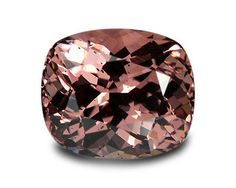 Malaya 181109: 2.90 Carats Natural Malaya Garnet Loose Gemstone- Cushion BUY IT NOW ONLY: $232.5