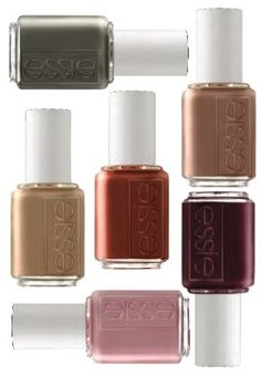 Essie fall colors. I LOVE ESSIE<3