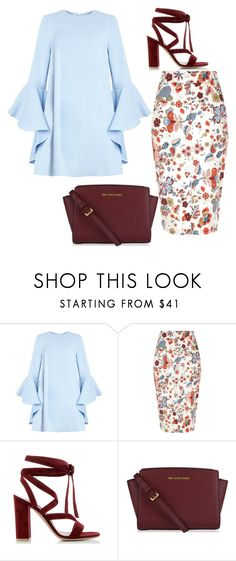 """""""Untitled #26"""" by scooterbump98 ❤ liked on Polyvore featuring River Island, Gianvito Rossi and MICHAEL Michael Kors"""