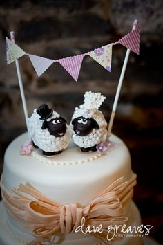 Wedding Cakes - the must see brilliant pin example number 9886730761 Big Wedding Cakes, Wedding Cake Designs, Wedding Cake Toppers, Sheep Cupcakes, Sheep Cake, Cupcake Cake Designs, Cupcake Cakes, Beautiful Cakes, Amazing Cakes