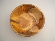 This is a gorgeous piece of hand-crafted wood. Hand Turned Pistachio Wood Bowl by UrbanTurn @Etsy