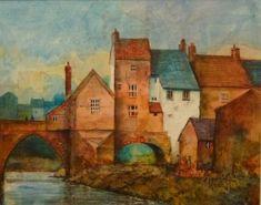 Elvet Bridge River Wear, Painting by Malcolm Coils   Artfinder
