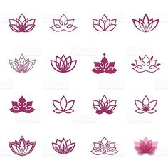 Vector floral labels for Wellness industry – abdulaziz alzahrani Lotus symbol icons. Vector floral labels for Wellness industry Vector Lotus labels for Wellness industry royalty-free stock vector art Mini Tattoos, Trendy Tattoos, Love Tattoos, New Tattoos, Body Art Tattoos, Small Tattoos, Tattoos For Women, Tatoos, Henna Tattoos