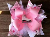 Boutique Hair Bows : Over The Top Hair Bows : Girls Funky Hair Bows : Baby Girls Hair Bows