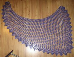 Simple Knits: Spring Showers Shawl to Crochet
