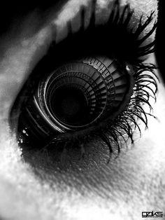 """Twisted Stare"" | Photographer: Gerrel Saunders, 2009"