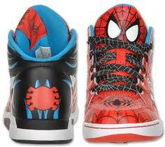 Reebok Spider-Man shoes from Finish Line