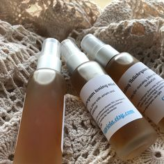Gentle toning mist for all skin types! Zero alcohol and the bonus of vitamin B5 for hydration!