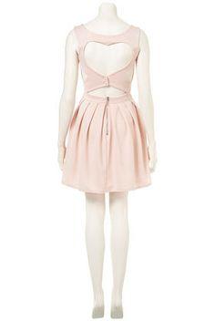 Heart Back Rib Prom Dress - Dresses - Clothing - Topshop #Lovely
