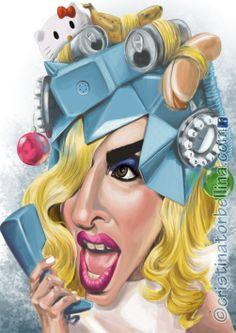 Lady Gaga por Cristina Torbellina