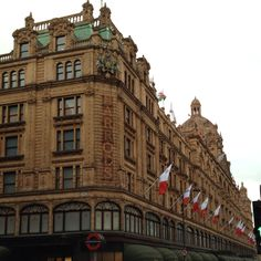 Harrod's - London..i love harrod's!! it's so much fun to spend a day in there!