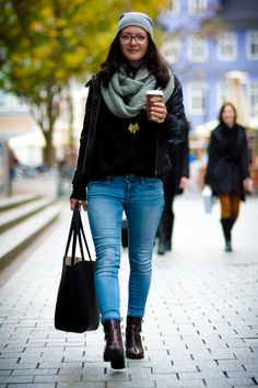 my casual outfit of the day #ootd #autumn #fashion #style #fashionblogger #todaysoutfit http://modiami.com