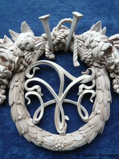 Woodcarving | Carving by Patrick Damiaens in the style from Grinling Gibbons.