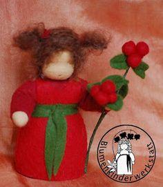 Blumenkinder-Werkstatt: Preiselbeere, Lingonberry