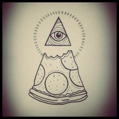 2 favorite things: pizza, and the illuminati   hahahahahaha (Amy)