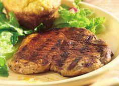 Grilled Southwestern Pork Chops Try a Pillsbury grilled pork chop recipe.