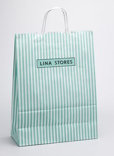 Lina Stores by Here Design #brand #branding #identity #logo