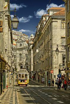 La Baixa. Lisboa. Portugal   Flickr - Photo Sharing!