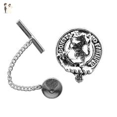 Campbell of Argyll Scottish Clan Crest Mens Cufflinks with Chrome Gift Box